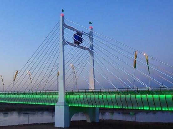 GOKCE BRIDGE TURKMENISTAN