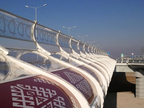 HIGHWAY BRIDGE TURKMENISTAN