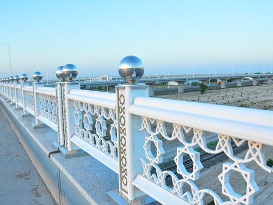 TURKMENISTAN BRIDGE PARAPETS